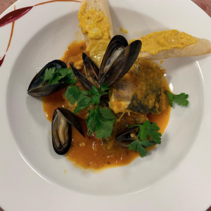 The Mediterranean classic, bouillabaisse